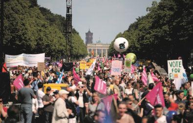 Ein Europa für Alle demonstration. Berlin, May 2019. |©Mirko Lux