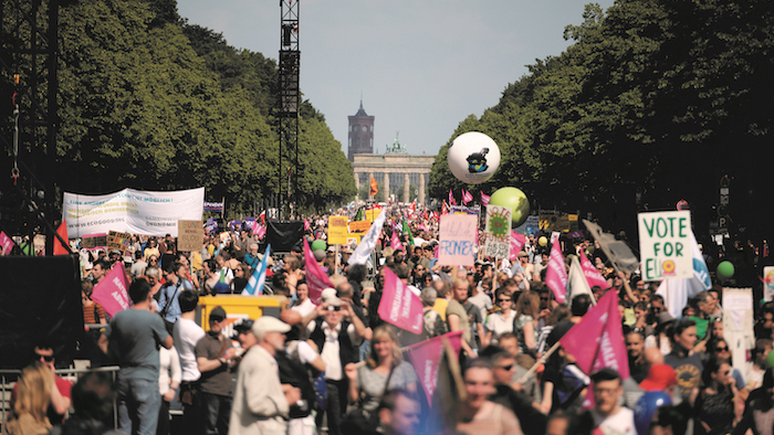 Ein Europa für Alle demonstration. Berlin, May 2019. | ©Mirko Lux