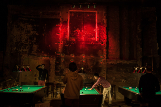 Many unused buildings have been transformed into bars, clubs, and restaurants.