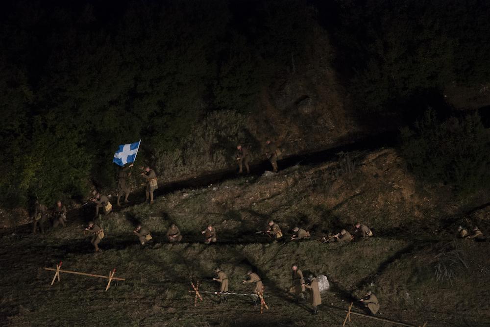 La rievocazione della battaglia di Kalpaki, durante la Seconda Guerra mondiale, è stata in parte sponsorizzata dalla Energean Oil, che opera in Epiro.