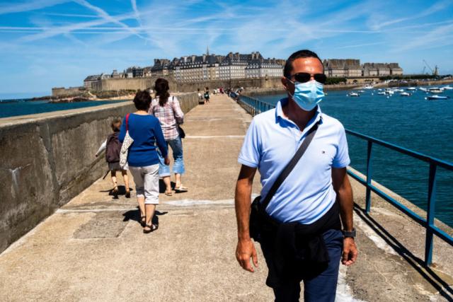 Saint Malo, Bretagne, Juli 2020
