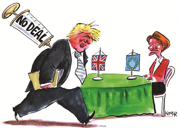 DEZEMBER 2020, Christo Komarnitski | Brexit, Johnson und die Impfkampagne