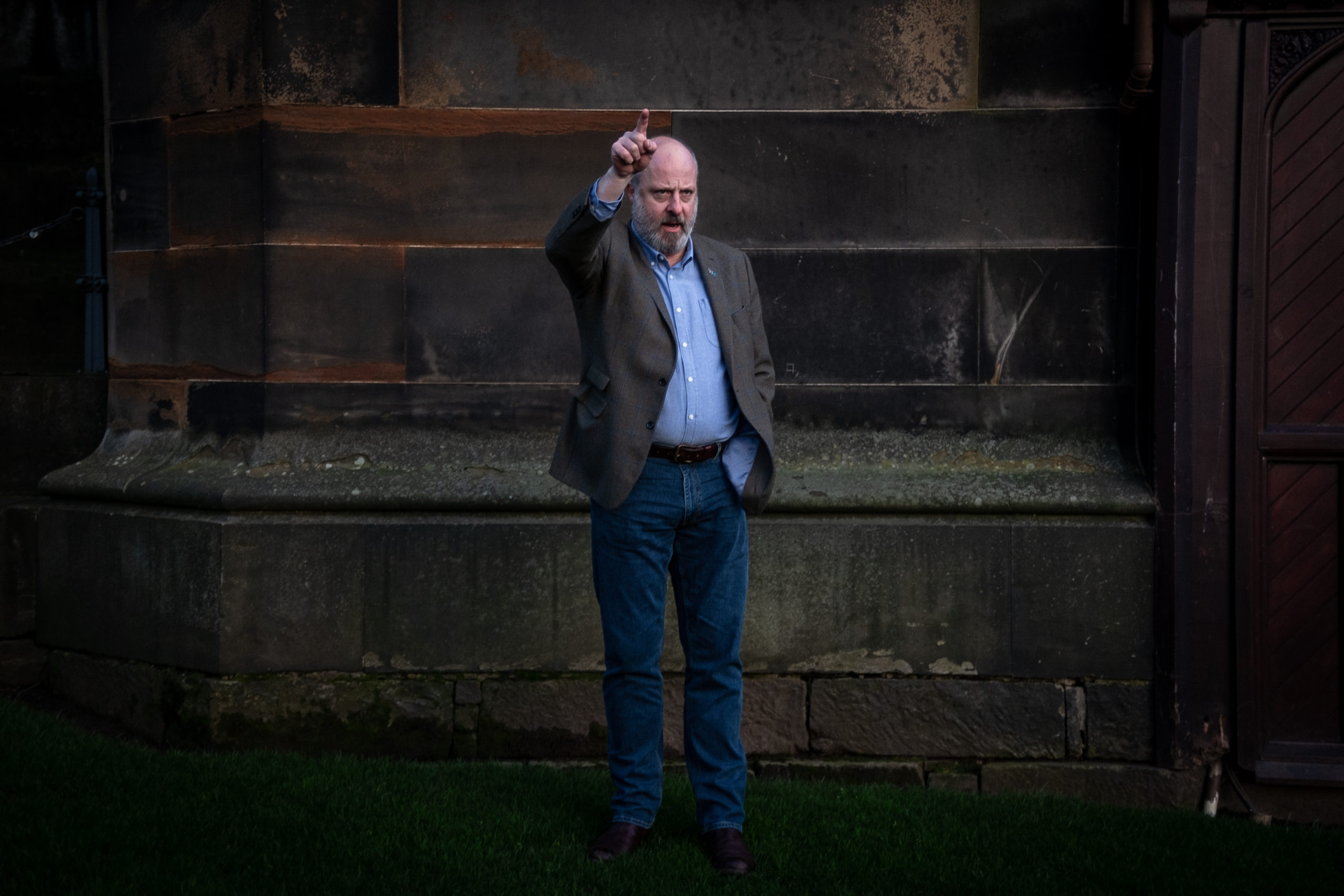 Andrew Wilson, member of a new movement aiming to unite independence activists, Now Scotland.