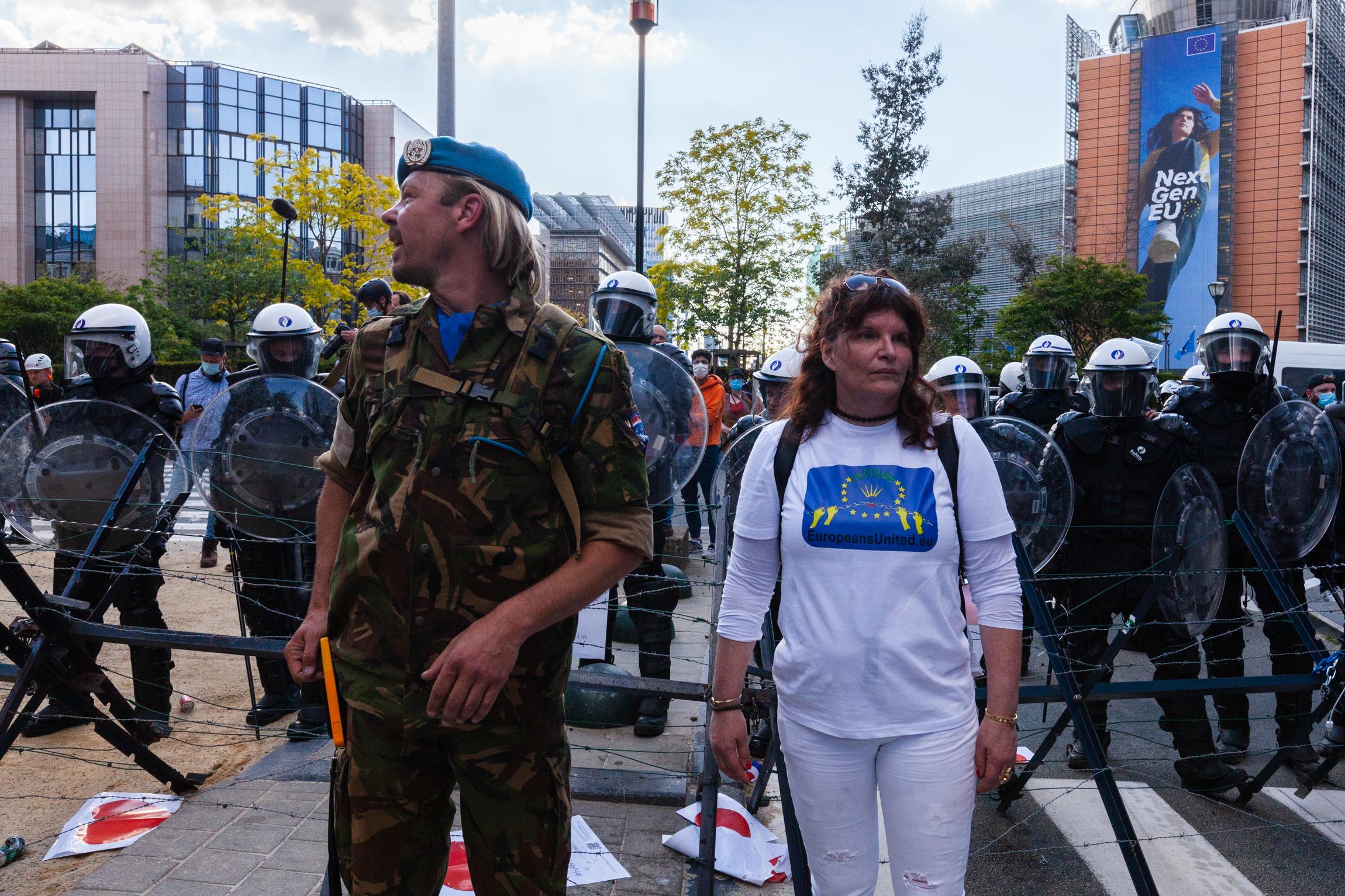 European Demonstration for Liberties.  29 May 2021, Brussels (Nicolas Landemard)